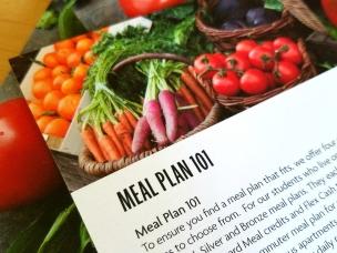 Meal Plan 101